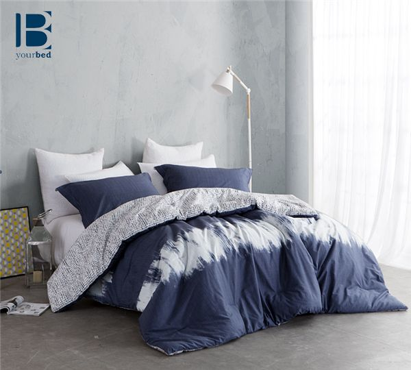 #Ombre_Design is a trending style! The BYB Navy Blur Comforter is a wonderful blend of fashion and comfort for any #Bedroom_Decor! #Ombre_Bedding #Ombre_Comforter #Tie_Dye_Comforter #Navy_Bedding #Navy_Blanket #Blue_Comforter #Blue_And_White_Bedding #Nautical_Bedding #Trendy_Comforter #Best_Bedding #Fashion_Bedding #Navy_Decor