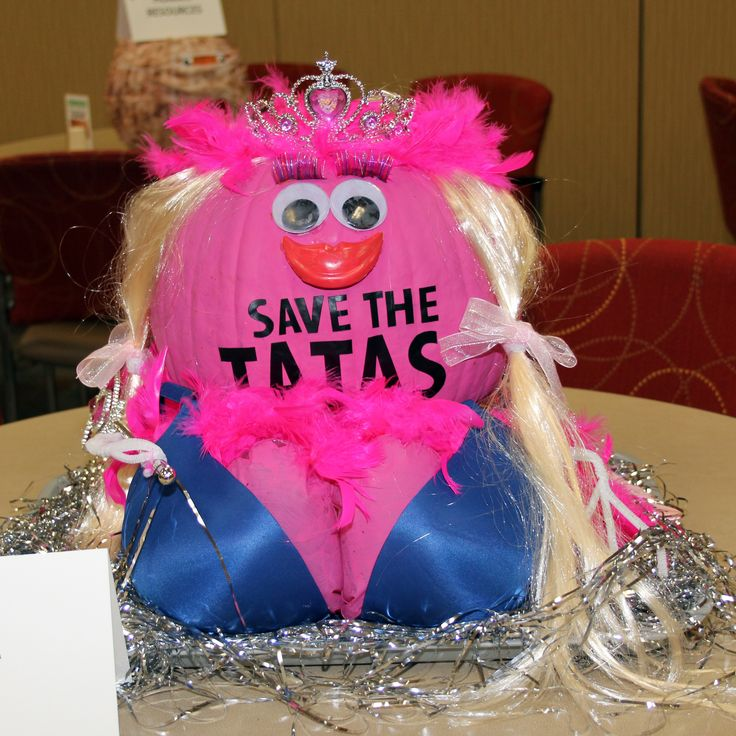 Breast Cancer Awareness 2013 Pumpkin Decorating Contest