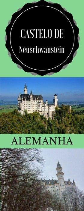 Castelo de Neuschwanstein, aquele da Cinderela - Mapa na mão