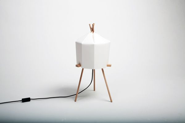 Paper Lamp by Milk Design Limited http://ow.ly/cp8zW