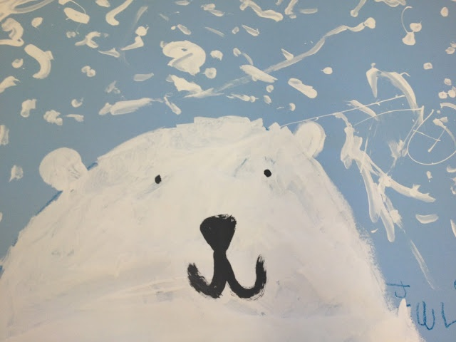 So cute! Polar Bears in Snow