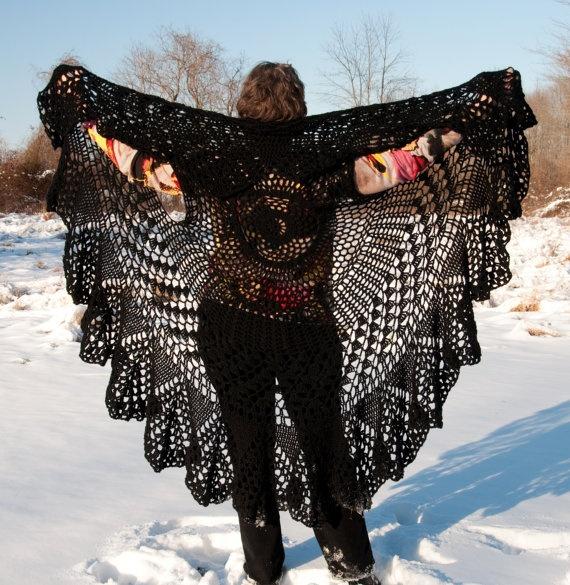 Crochet Vest Pattern Bohemian Vest Stevie Nicks Style