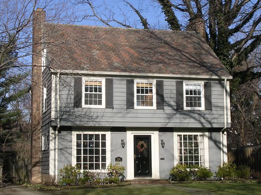 Garrison colonial epoch 4 school stuff pinterest for New england colonial style