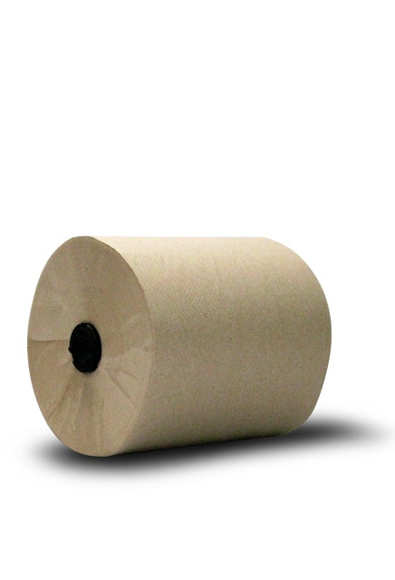 Tork Universal, 700' Hand roll towel: 6 rolls of 700', Tork Hand roll towel, brown.