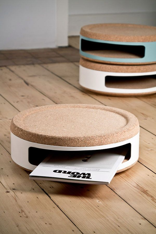 8.*industrial design, products, cork stools, containers* - Kork by Twodesigners