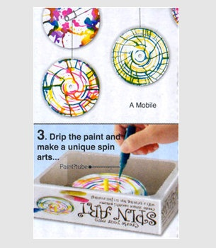 Create Your Own Spin Aret I | Art Fun For All Ages | fredflare.com