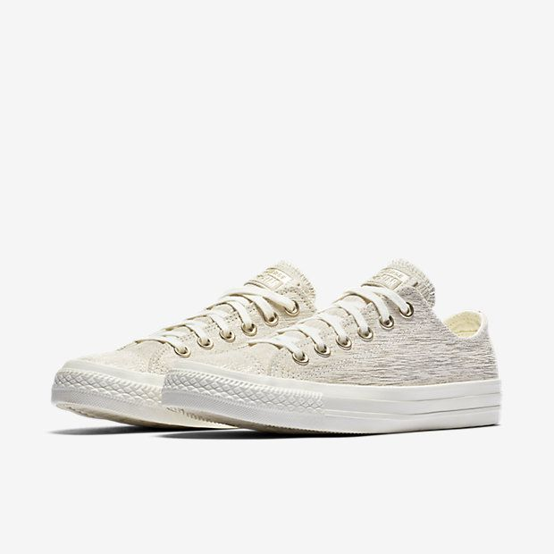 e56e4fd258c2 Converse Chuck Taylor All Star Precious Metal Suede Low Top Women s Shoe