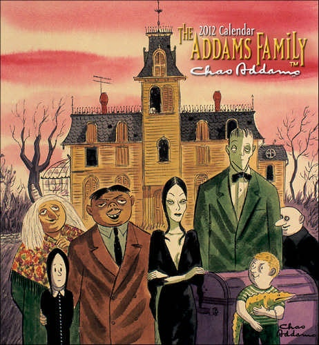 The Original Addams family, which appeared in Charles Addams' books long before the tv show.