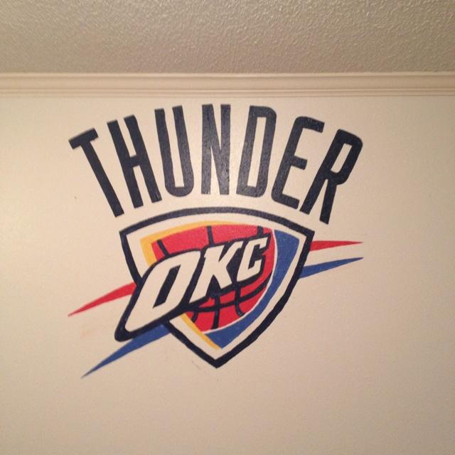 Okc Thunder Bedroom Decor: 80 Best Wall Murals Images On Pinterest