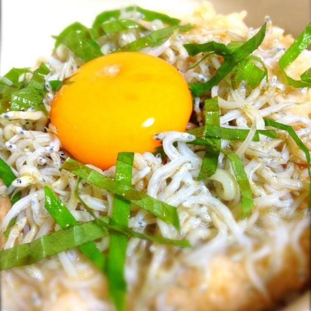 本日の朝丼はしらすととろろでずるっとひと飲み!(≧з≦) んま〜っす!Σd(≧▽≦) 行って来まーす!( ′▽`)ノ - 165件のもぐもぐ - しらすとろろ丼 by shinjiterao