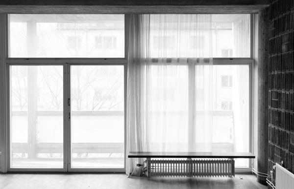 S:t Görans gymnasium, Kungsholmen, Stockholm. Invigdes 1960 var till en början sömnads- och hushållsskola. Skolan ritades av Léonie Geisendorf