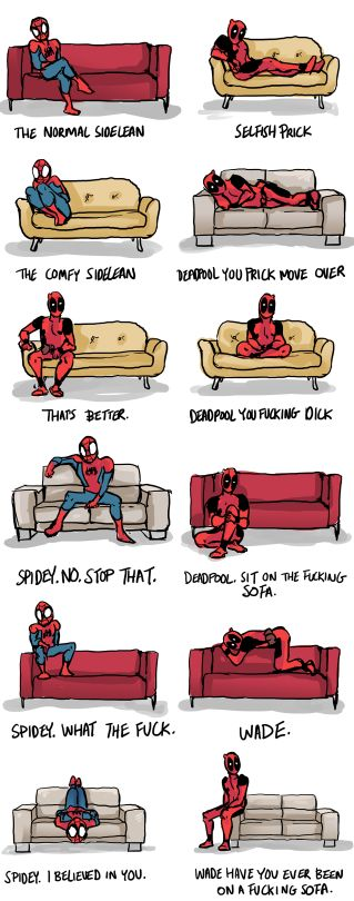 12/18/17  2:08p Marvel  Something Deadpool and Spiderman Would Do.  fitsaudi.com
