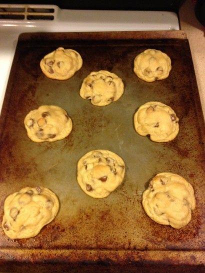 Award winning soft chocolate chip cookies.  Made with vanilla pudding mix