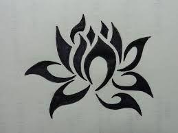 Displaying Angled Flame Lotus
