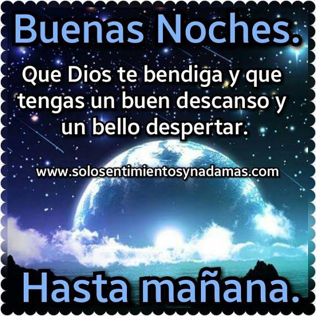 Buenas Noches Que Dios Te Bendiga Y Que Tengas Un Buen Descanso