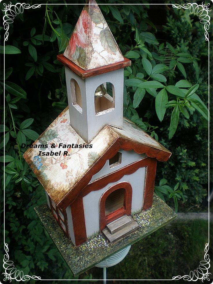 Casita de pajaros (vendida)  http://dreamsandfantasies10.blogspot.com.es/