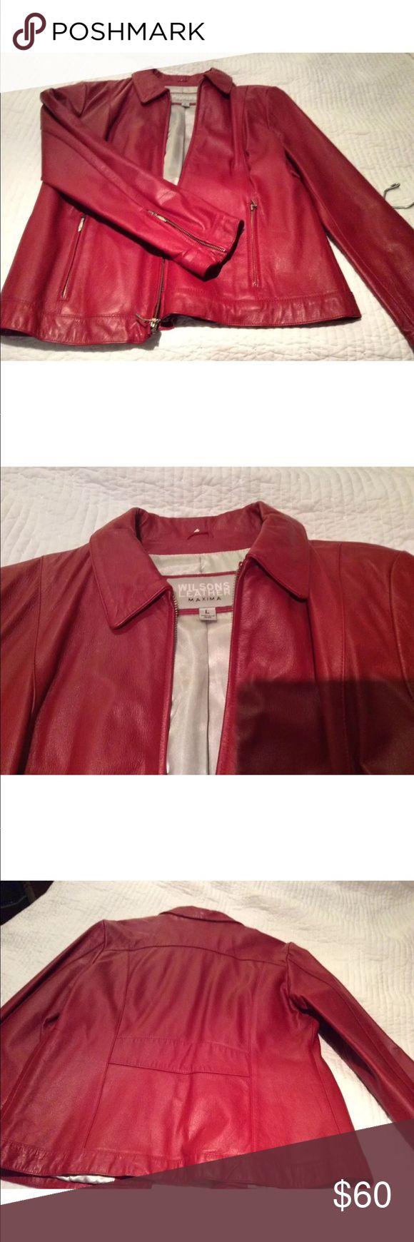 Red Leather Jacket Leather jacket, Red leather jacket