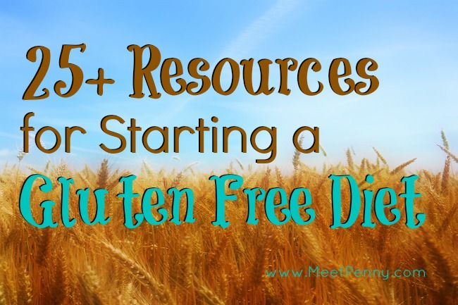 A gluten free resource list for people just starting or pros needing more information and ideas.