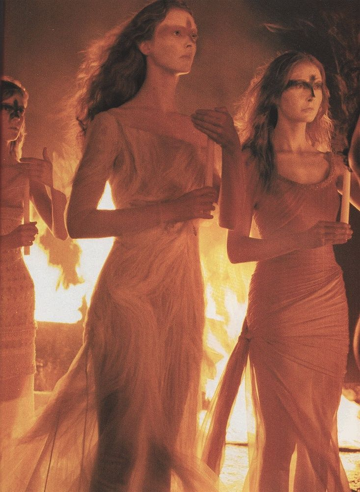 Witches Coven Witchcraft Wicca Pagan Fire Magick