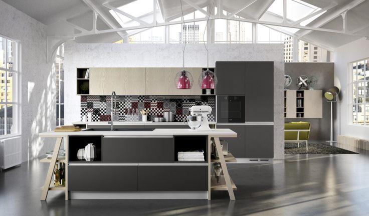 Moon di Arredo3 #arredo3 #cucine #arredamento #design #kitchen