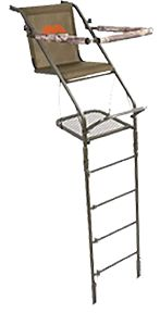 MILLENNIUM OUTDOORS LLC *DS* Single Ladder Stand 21' 2 Boxes, EA