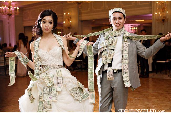 The Money Dance! / Next Exit Photography / via StyleUnveiled.com
