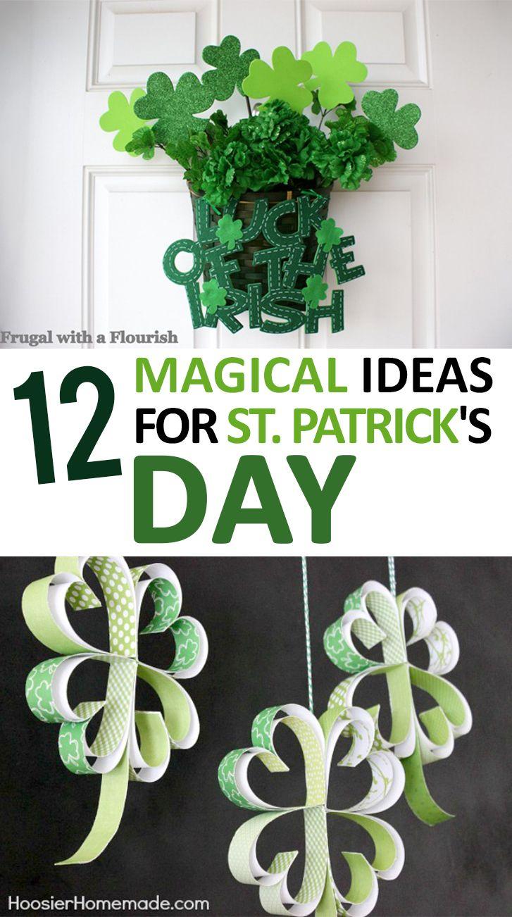 St.Patricks Day, St. Patricks Day Activites, How to Decorate for St. Patricks Day, St. Patricks Day Decor, Spring Holiday, How to Decorate For Spring, Fun St.Patricks Day Decor, Popular Pin.