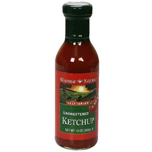 Westbrae Natural Unsweetened Ketchup, 13 oz (Pack of 6) | #Grocery