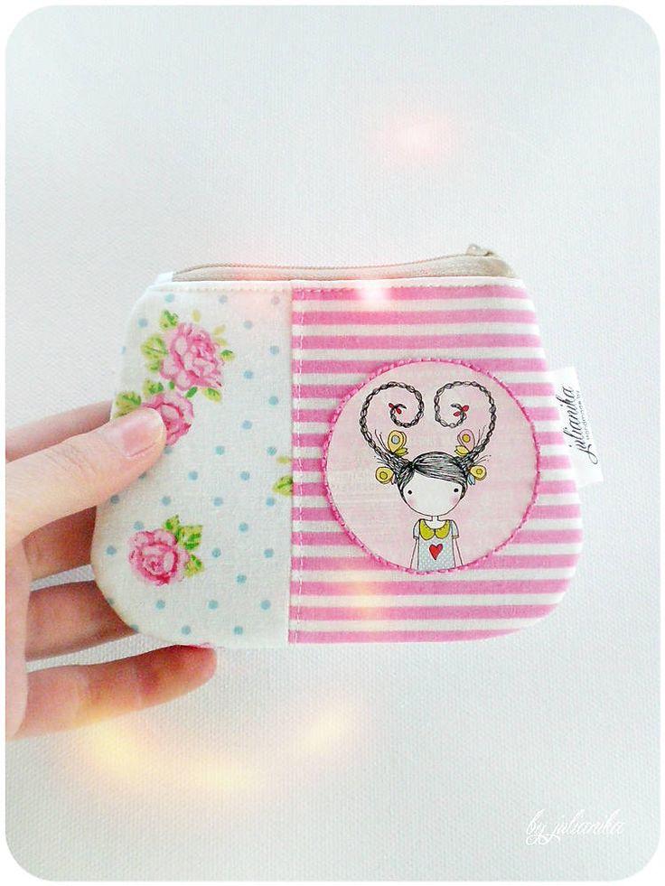 Peňaženky - Len ja a môj svet - romantická peňaženka - 5173740_