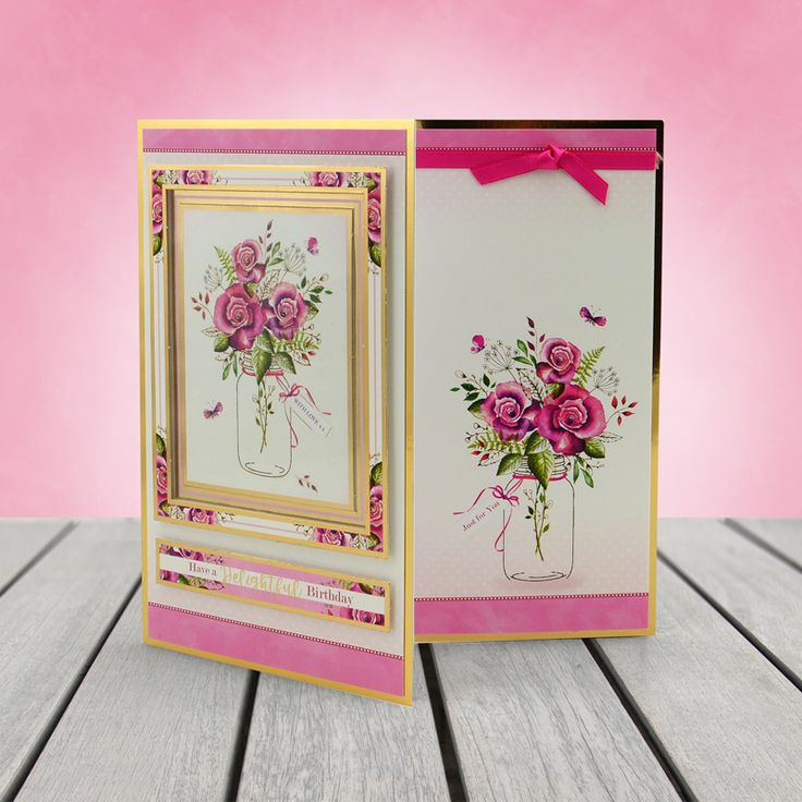 Club Gift - Rosy Posies - Hunkydory | Hunkydory Crafts