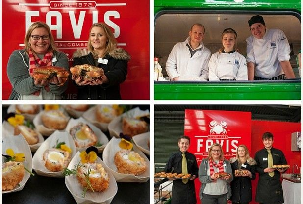 Devon chefs were feeling rather crabby when they met for latest meeting of The Chefs' Forum.  With students from HIT Training and South Devon College.