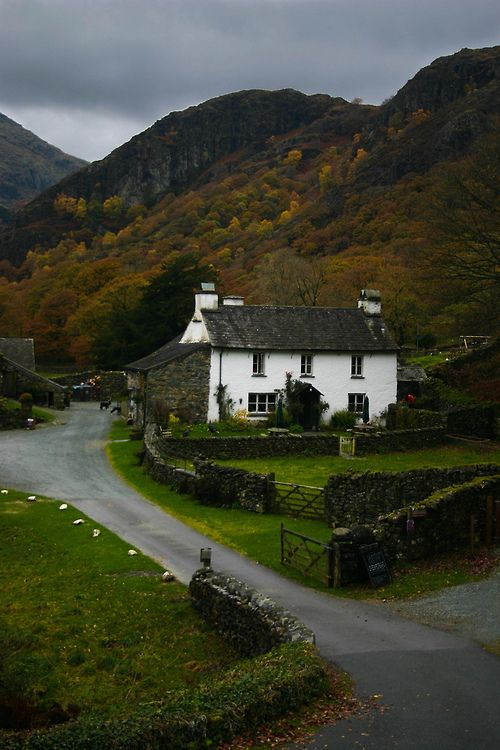 Yew Tree Farm, Lake District, England by Aidan Mincher