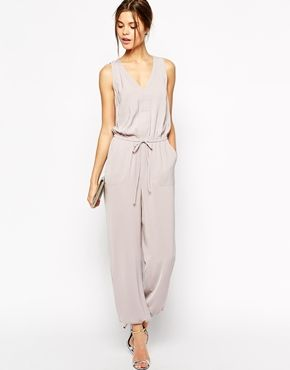 sleeveless jumpsuit :: as shorts alternative