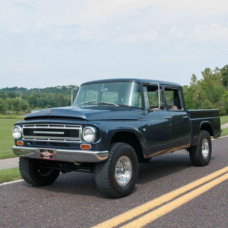 1967 International Harvester 1100B Travelette 4×4 Photo 1                                                                                                                                                                                 More