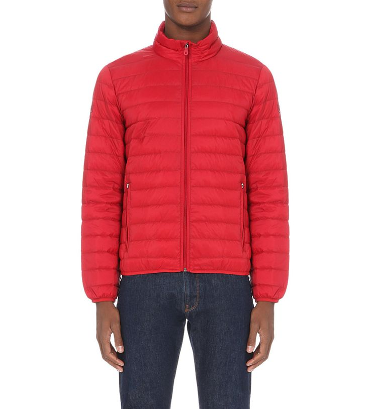 ARMANI JEANS - Quilted down shell jacket | Selfridges.com
