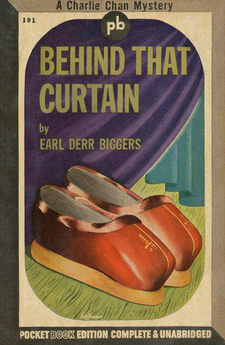 Curtain behind the curtain book - Behind That Curtain A Charlie Chan Mystery Earl Derr Biggers Pocket Book Edition