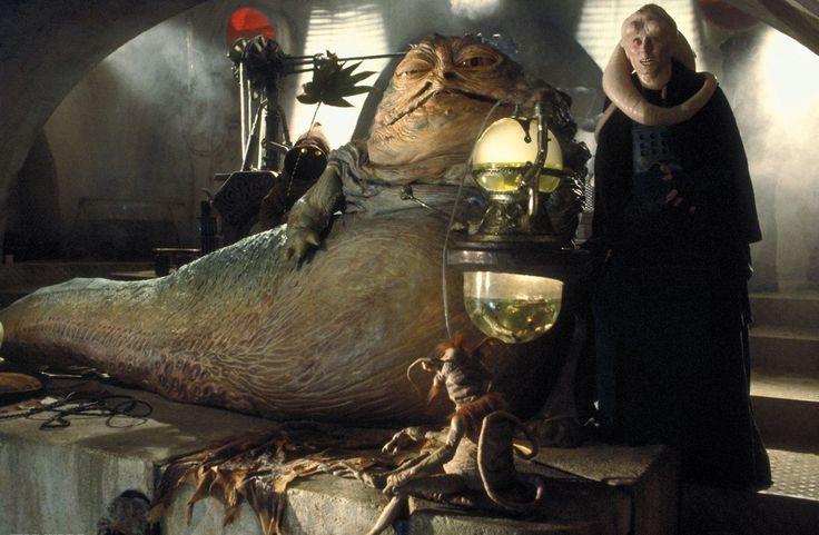 Jabba the Hutt -master and one time owner of Princess Leia Skywalker. Biggest slug I know.