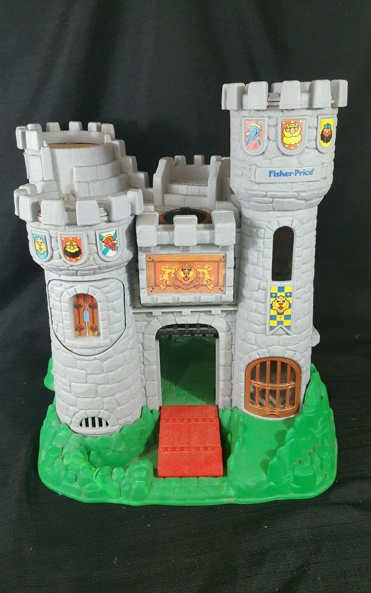 Fisher Price GREAT ADVENTURES CASTLE 1994 Child Pretend Toy 7110   eBay