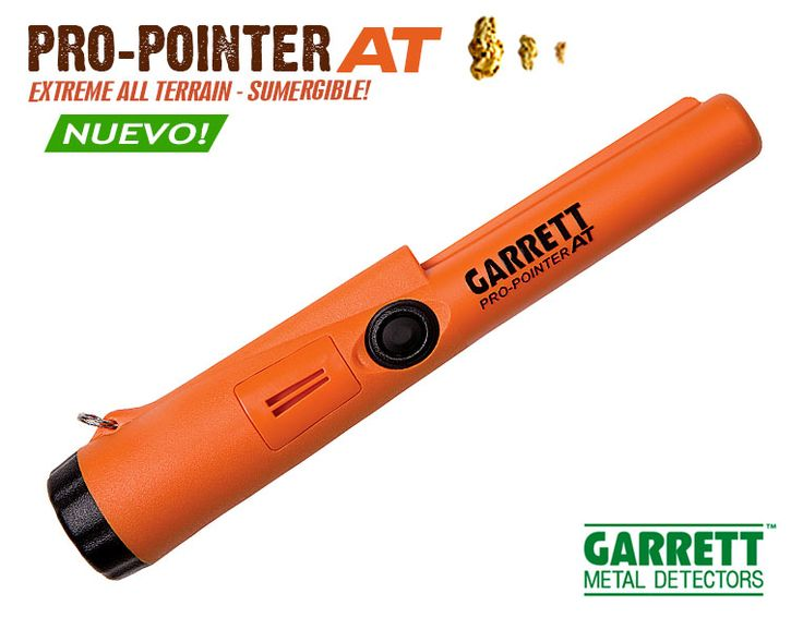 Detector de Metales Garrett Modelo: Pro-Pointer AT
