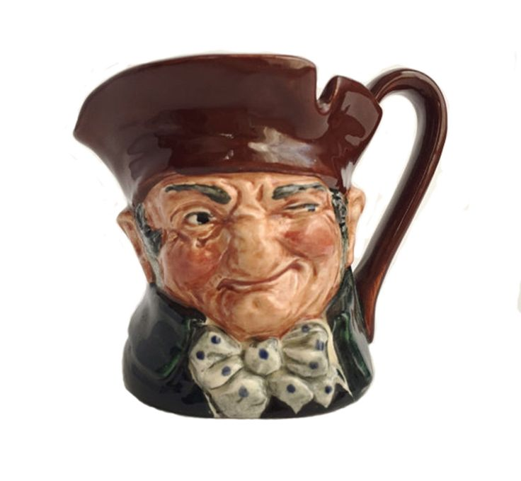 SOLD! Royal Doulton, Vintage Toby Jug, Old Charley Character Mug, D5527, Pre-1960, Vintage Online Shopping, Collectible Doulton Jug by PlumsandHoney on Etsy