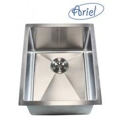 "Undermount Kitchen Sink. 16 Gauge Stainless Steel. Single Bowl. Exterior Dimensions 16"" x 20"". Interior Dimensions 14"" x 18"". Depth 10"".  http://www.emoderndecor.com/16-inch-stainless-steel-undermount-single-bowl-kitchen-bar-prep-sink-15mm-radius-design-16-gauge.html#.UTXzNGMyXRg"