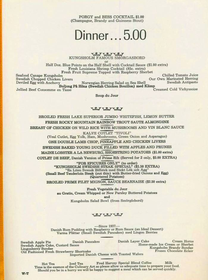 36 best 1960s restaurant menus images on Pinterest Childhood - restaurant menu