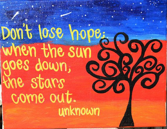 don´t lose hope quote