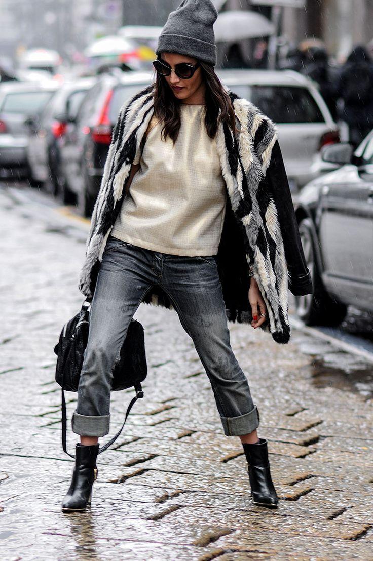 Puddle Jumper / Milan #streetstyle / #MIZUstyle