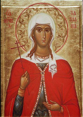 Saint Tatiana of Rome / Мц. Татиана Римская #Orthodox #Christian #icon