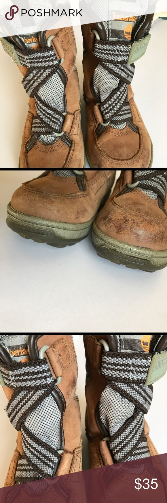 Toddler Timberland Boots Very good condition. Some wear on the tips. Please see photos. Timberland Shoes Boots