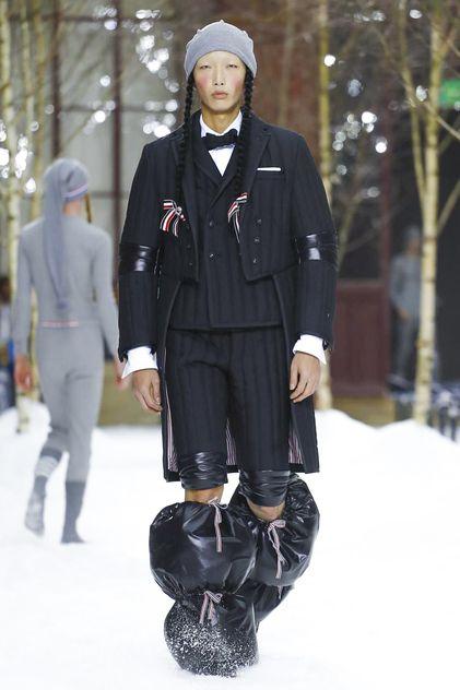 3b4712f0b259 Thom Browne Menswear Fall Winter 2018 Paris in 2019