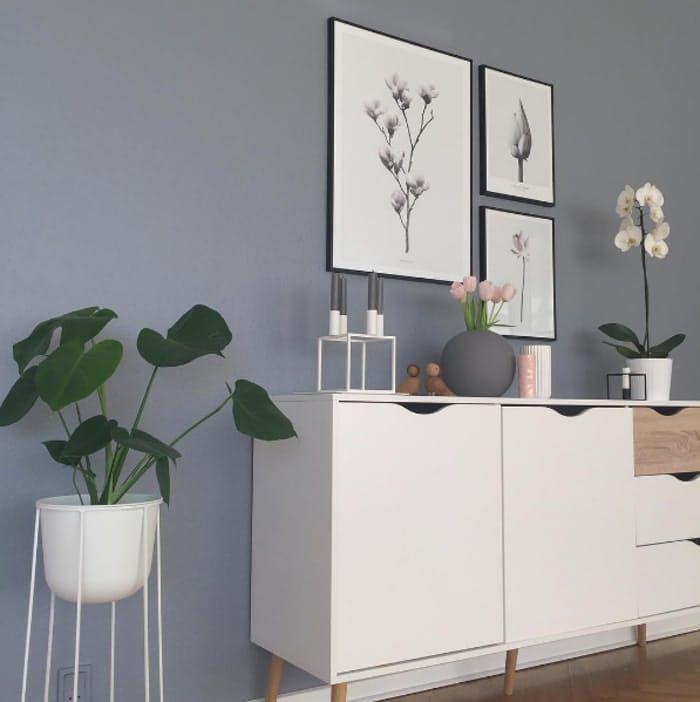 Denne uges instagrammer er Carina, som har et utroligt hyggeligt hjem, hvor den romantiske stil spiller ind.