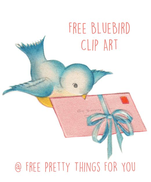 Images: Free BlueBird ClipArt - Free Pretty Things For You