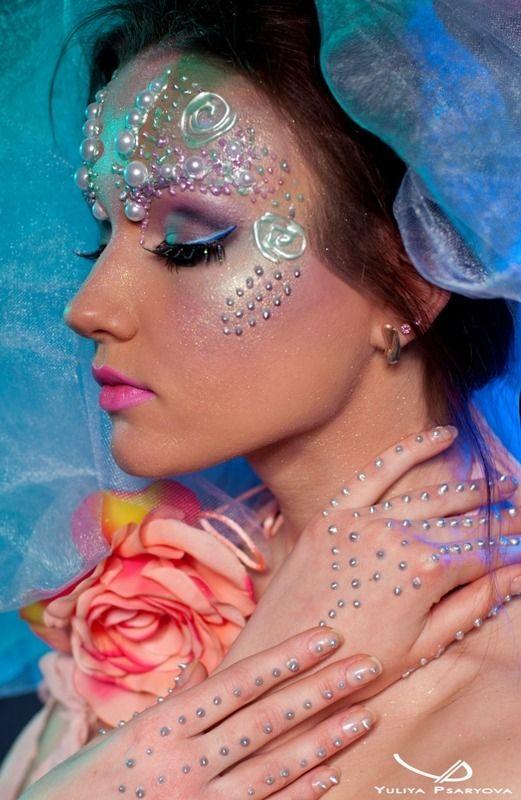 Fantasy Photoshoot Eye Shadow Fantasy Makeup Fairy